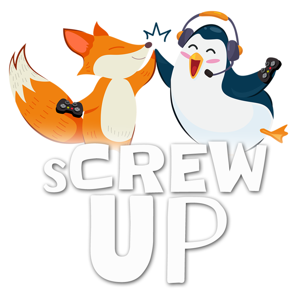 sCREWup Logo Koop-Podcast